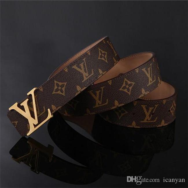 2020 Belt Designers Cintos Homens Cintos Designers Belt Cobra Luxo Belt Cintos de couro do negócio Womens Big fivela de ouro 135