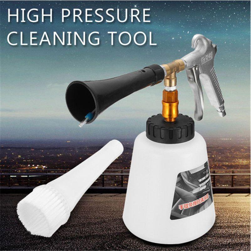 Pistolet de nettoyage de voiture Pistolet de lavage intérieur pour nettoyage à sec automatique pour équipement de lavage à commande pneumatique