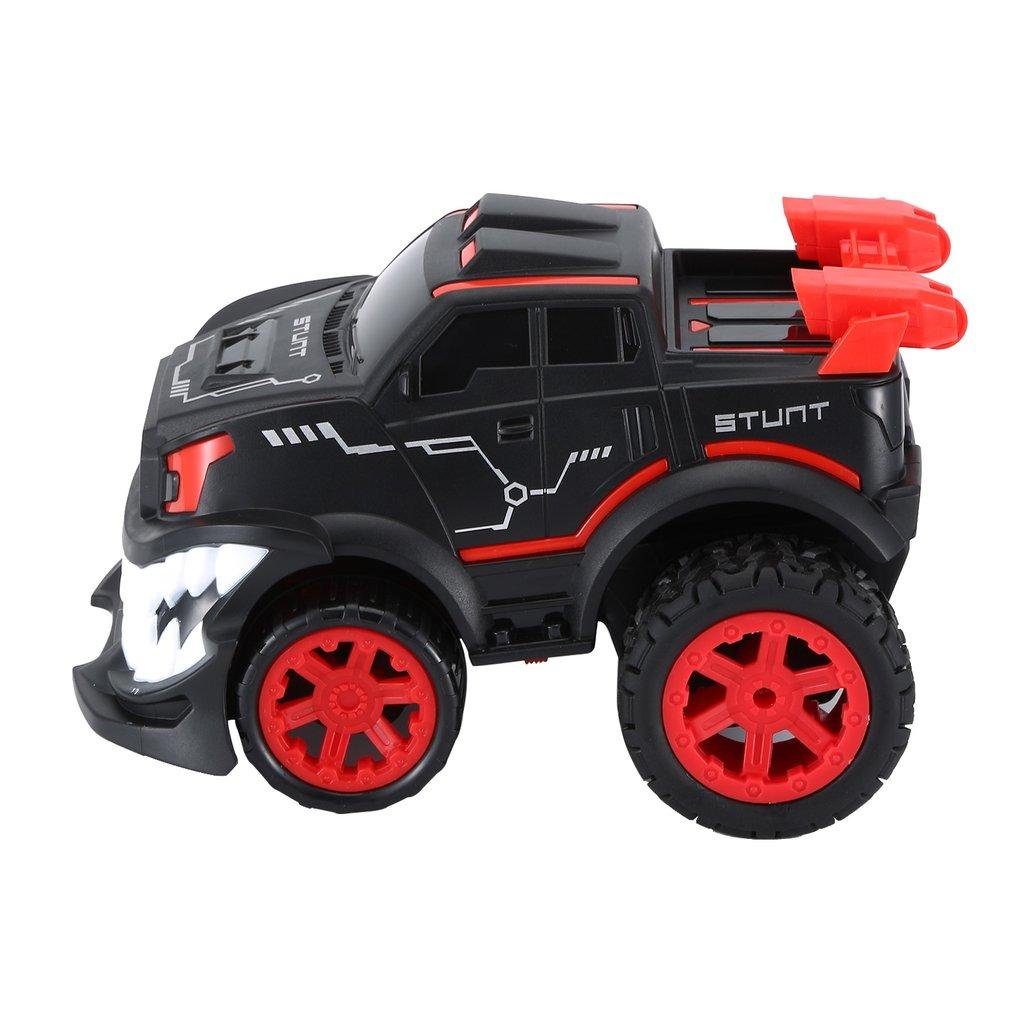 2019 New 85J 2.4G Special Effects 360 Degree Vertical Rotary Remote Control Vehicle Devil Big Tooth Off-Road Electric Model Toy