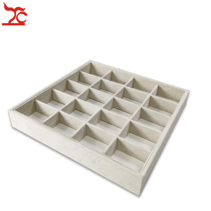 2020 New 20 Grids Velvet Counter Diy Jewelry Storage Tray Ring Box Bead Pendant Stud Jewelry Organizer Earring Holder Case 23 23 3 5cm From Chippenhook 13 58 Dhgate Com