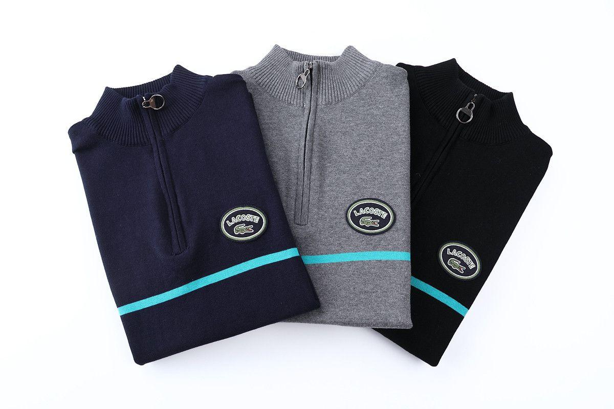 Nuovo 2020 autunno e l'inverno a maniche lunghe maglione semplice Solid Felpa svago di modo Pullover Maglione Sportwear Via