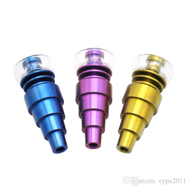 제조자는 색깔 못을 박기는 티타늄 담배 관 이음쇠를 공급합니다