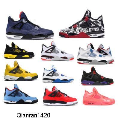 Jumpman 4 Men scarpe da basket Winterized Loyal Che la regalità Raptors Fiba tatuaggio del Toro Bravo Volo 4S IV 2020 donne Sneakers autentici