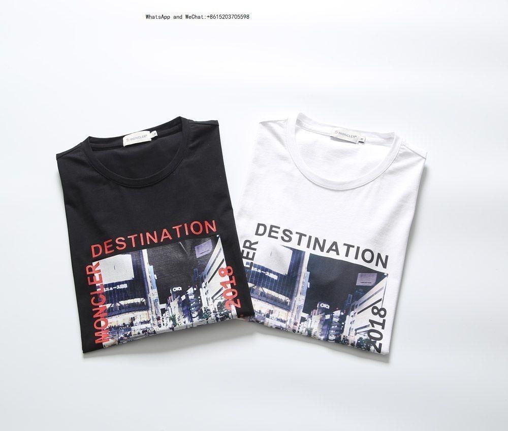 2019 Yaz Giyim Saf Renk Kısa Kollu T Shirt erkekler için moda Erkek Adam Yarım T-shirt Gelgit erkek tişörtleri markalar 0308