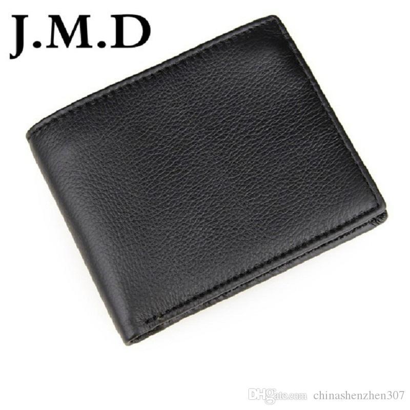 Мужчины для нового кошелька кредитный держатель коровьей 100% кожа 2020 высокий 8086A Качество качества реальная J.M.D TQPIW