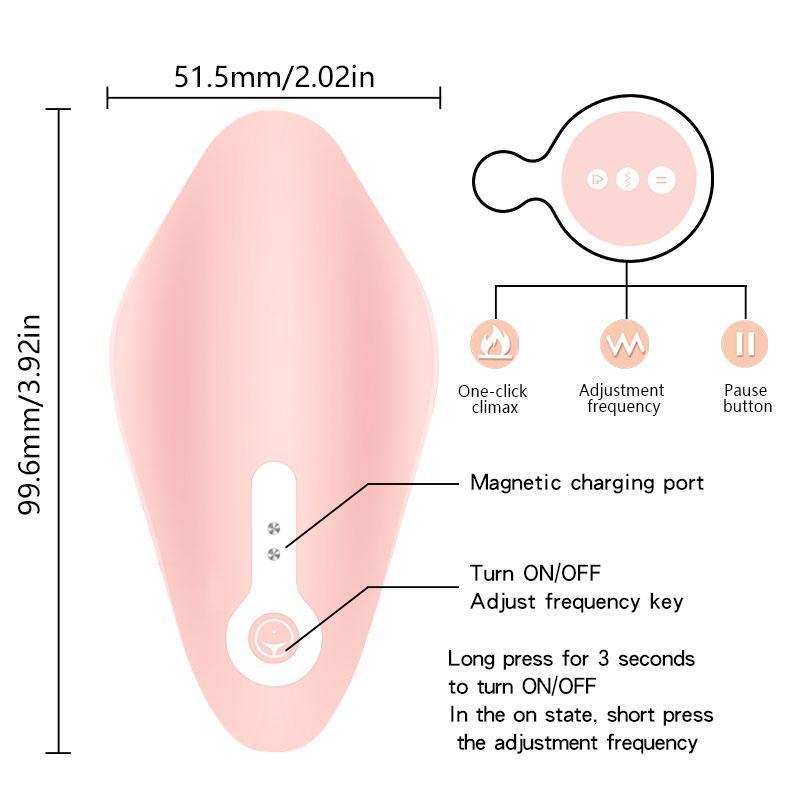 Невидимый вибратор PrivJouets Dildo CliToris для стимулятора Sexuelstoys Control Водонепроницаемый силиконовые носимые трусики секс беспроводной SEL BIHM