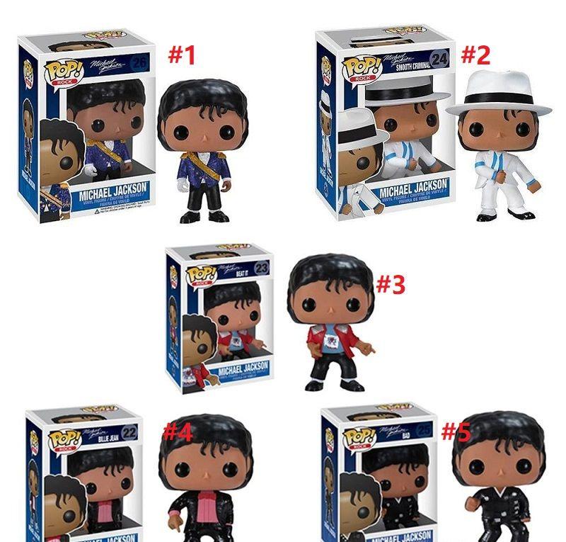 Funko pop Beat It Billie Jean BAD MICHAEL JACKSON Action Figure Collectible Toy Modelo para chlidren por hope13