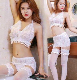 alta qualità prezzo basso all'ingrosso 3pcs / lots lsexy Camicia da notte Pigiama prospettiva indumenti da notte Robe 17.99erer