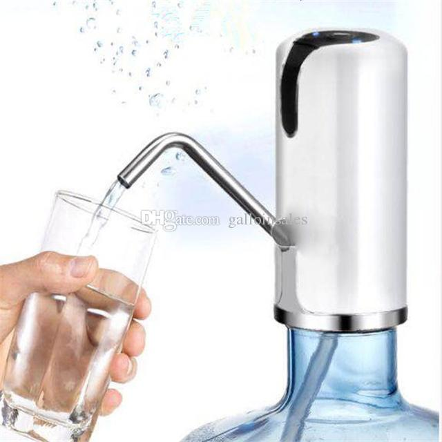 High Quality Manual Hand Press Drinking Water Bottle Creative Dispenser Pump Eco Friendly Portable Home Office Tools CWP001