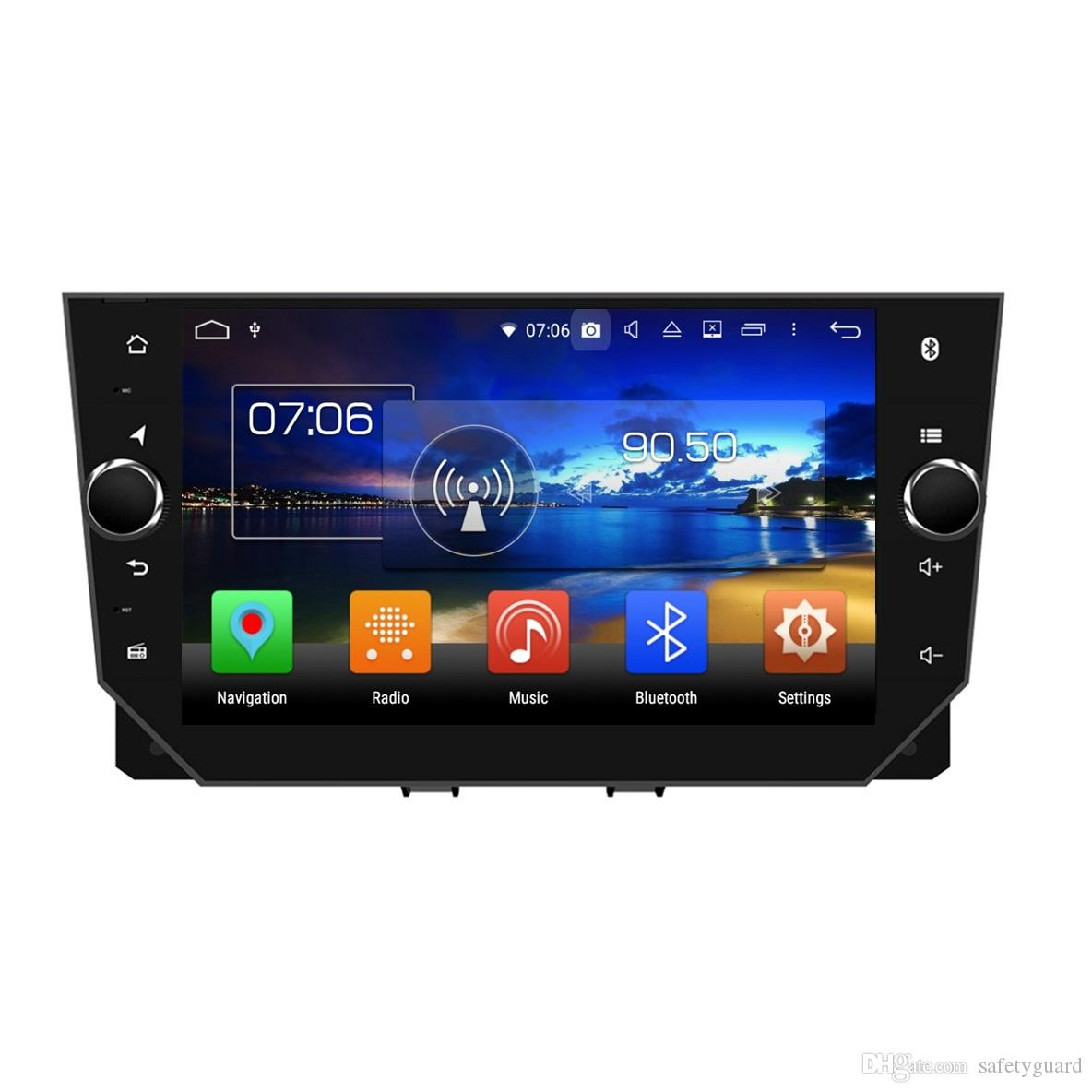8 코어 PX5 4GB + 64 기가 바이트 안 드 로이드 8.0 자동차 DVD 스테레오 라디오 DVD GPS 머리 단위 좌석이 비자 2018 블루투스 와이파이의 USB DVR 미러 링크