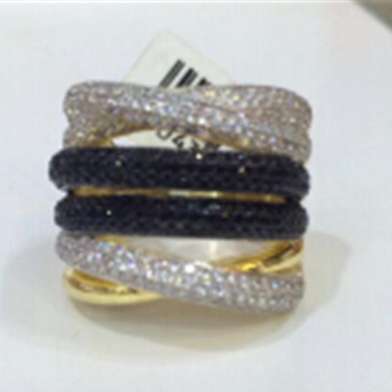 xj022 de lujo del diseñador de moda plata de ley 925 joyería de circonio brillando para mujeres de la señora, anuncio cutesweet