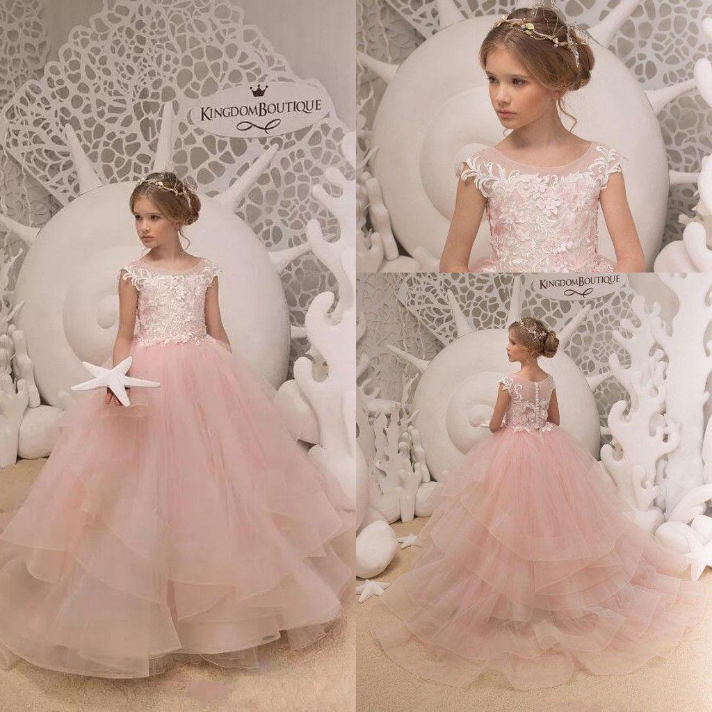 Floor length Gorgeous Bridesmaid Dress Princess Junior Girl Dresses 4+++14 years