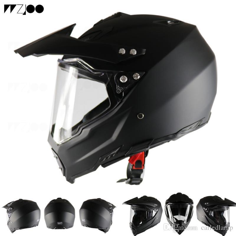 Full Face Carbon Fiber Motorcycle Helmet Professional Racing Helmet DOT Rainbow Visor Motocross Off Road Touring DOT approved Motorcycle He