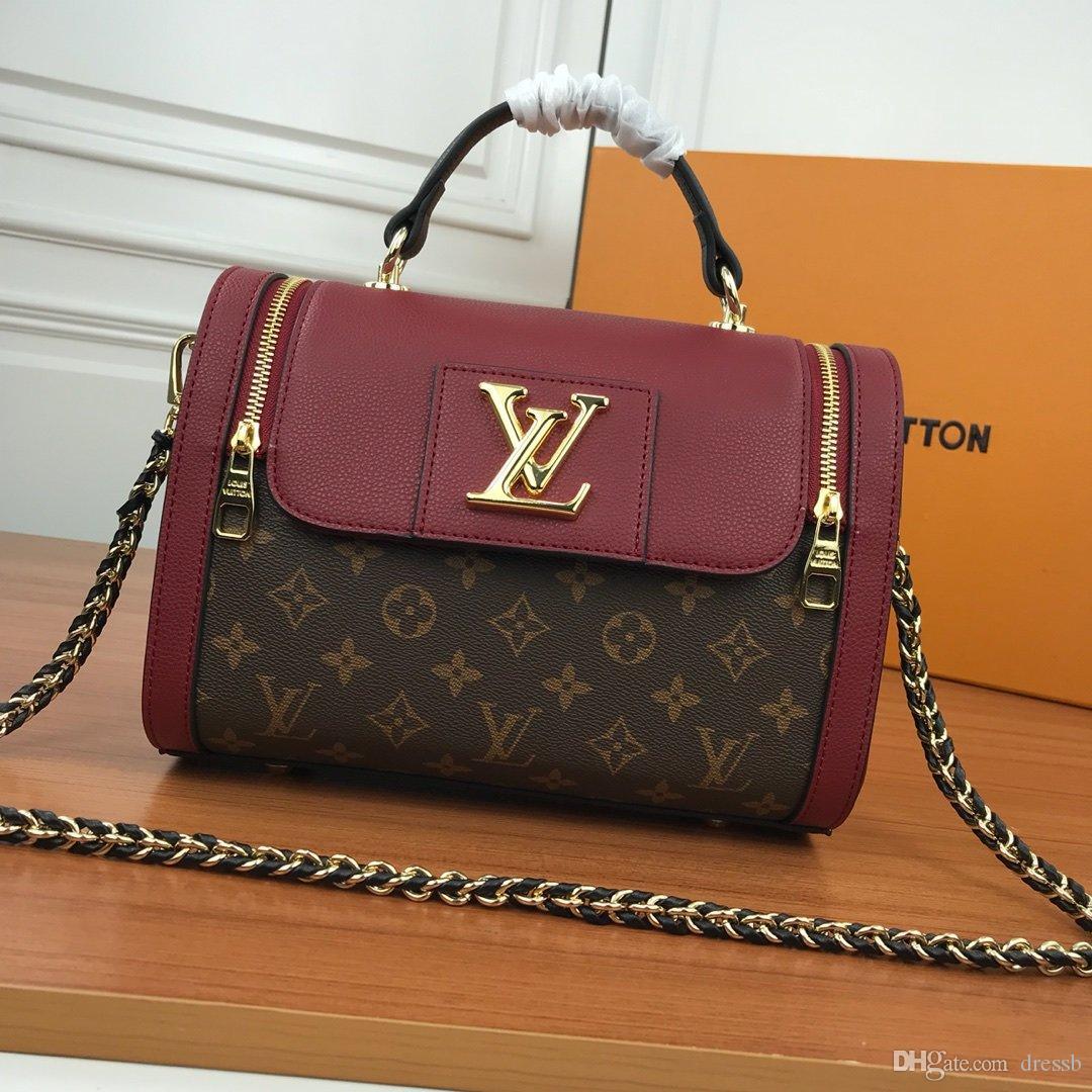 New16 Französisch Luxus-Design-Mode Damen Damen lässige Taschen Einkaufstaschen Business-Frauen arbeiten Taschen original box Rechnung