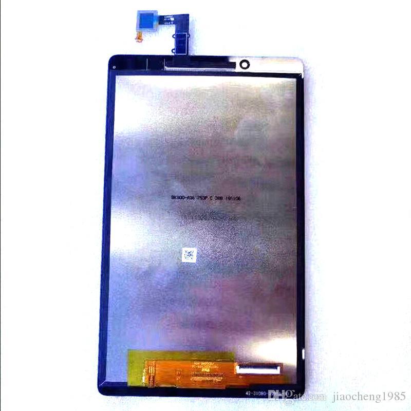 Pantalla LCD pantalla digitalizador Asamblea para Lenovo TAB E8 8,0 TB-8304F TB 8304 TB-8304 Tabet piezas de repuesto Negro