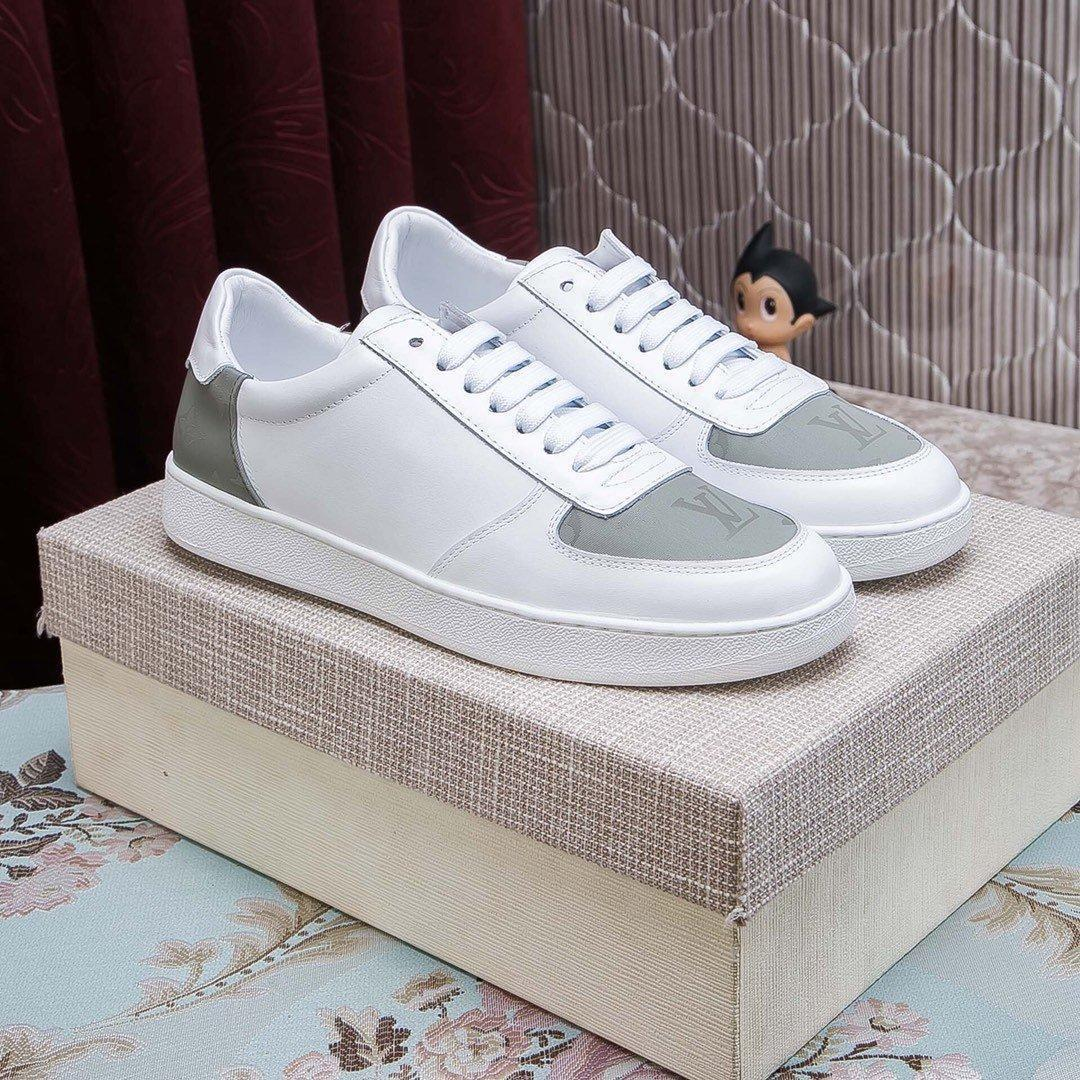2020Designer NEW Mens sapatos Trainers SneakersLVLouisBusiness Casual sapatos masculinos 38-45 00784532