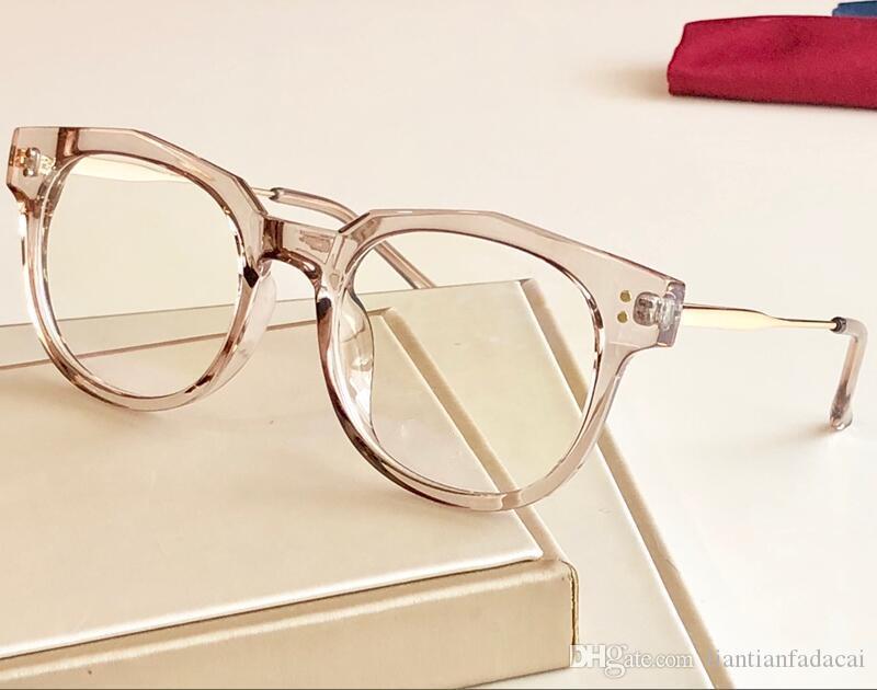 Nouveau cadre lunettes 30015 cadre monture de lunettes de planche restauration des moyens anciens oculos de grau hommes et femmes lunettes de myopie cadres avec étui