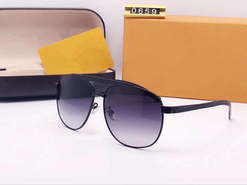 Erkekler Tutum Pilot Güneş Altın Gri Len Vintage Sunglass Erkekler tasarımcı sunglasse Moda Güneş Gözlüğü gafa de sol Out Gözlük Ile Yeni kutu