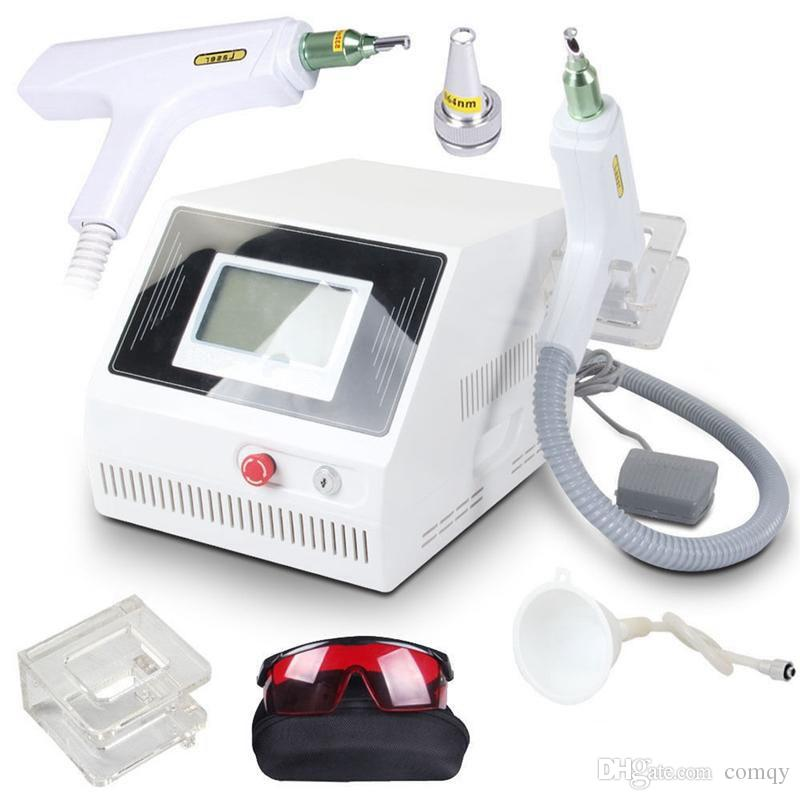 2000MJ Touch screen Q switched nd yag laser beauty machine tattoo removal freckle pigment spot removal 1320nm 1064nm 532nm