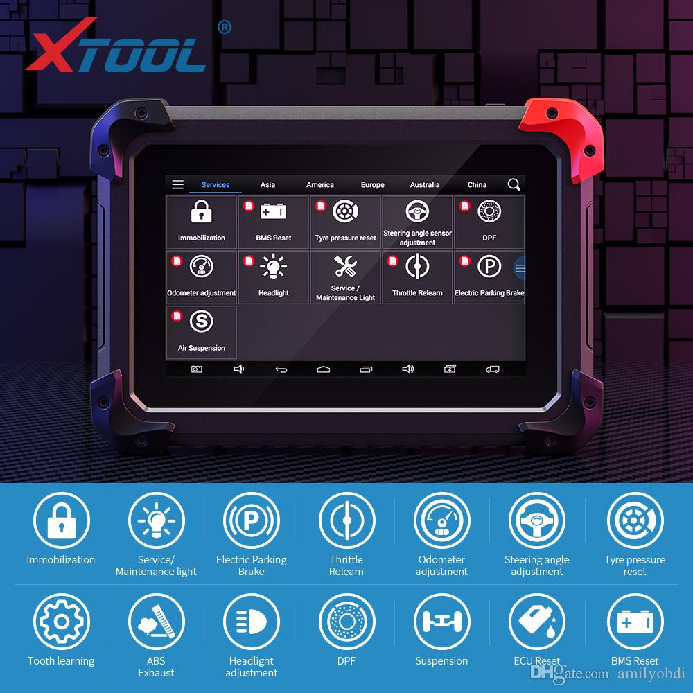 EZ400 pro Diagnostics Tool Scanner OBD2 Key programmer with Immobilizer and EPB DPF Odometer Adjustment functions update online