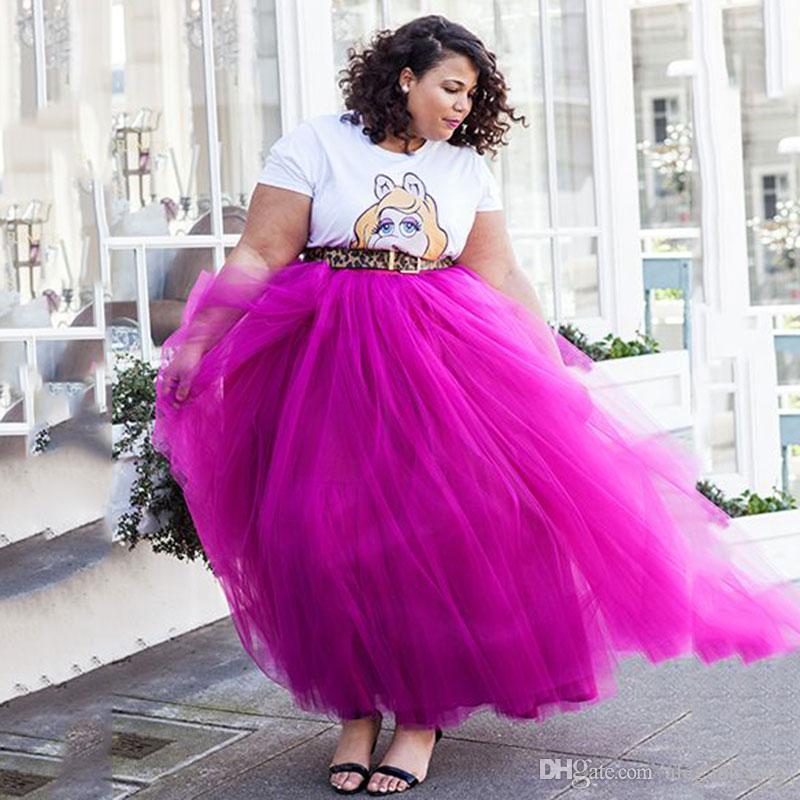 Plus Size 5 Strati Bridal Petticoat Crinoline Slip Abbastanza Donne Girl Elastico Elastico Stretchy Accessori da sposa Gonna Tutu
