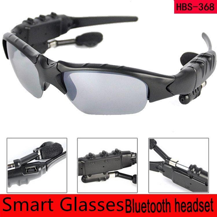 Smart Glasses Bluetooth V4.1 Sonnenbrille Freisprecheinrichtung Sun Glass Sports Headset MP3-Player Bluetooth-Telefon Drahtlose Kopfhörer Bluetooth-Brillen