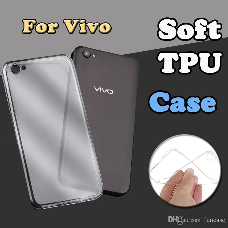 Yüksek Kalite Ultra İnce Yumuşak TPU Silikon Jel Temiz Şeffaf Kapak Kılıf için VIVO X27 Pro X23 X21i X20 Artı V15 V11 Y97 Y83 Y17 Z5X IQ00