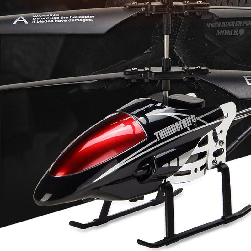 RC беспилотный 3,5 CH управления по радио вертолет с LED Light Quadcopter Дети Подарочные небьющиеся игрушки Летающие модели