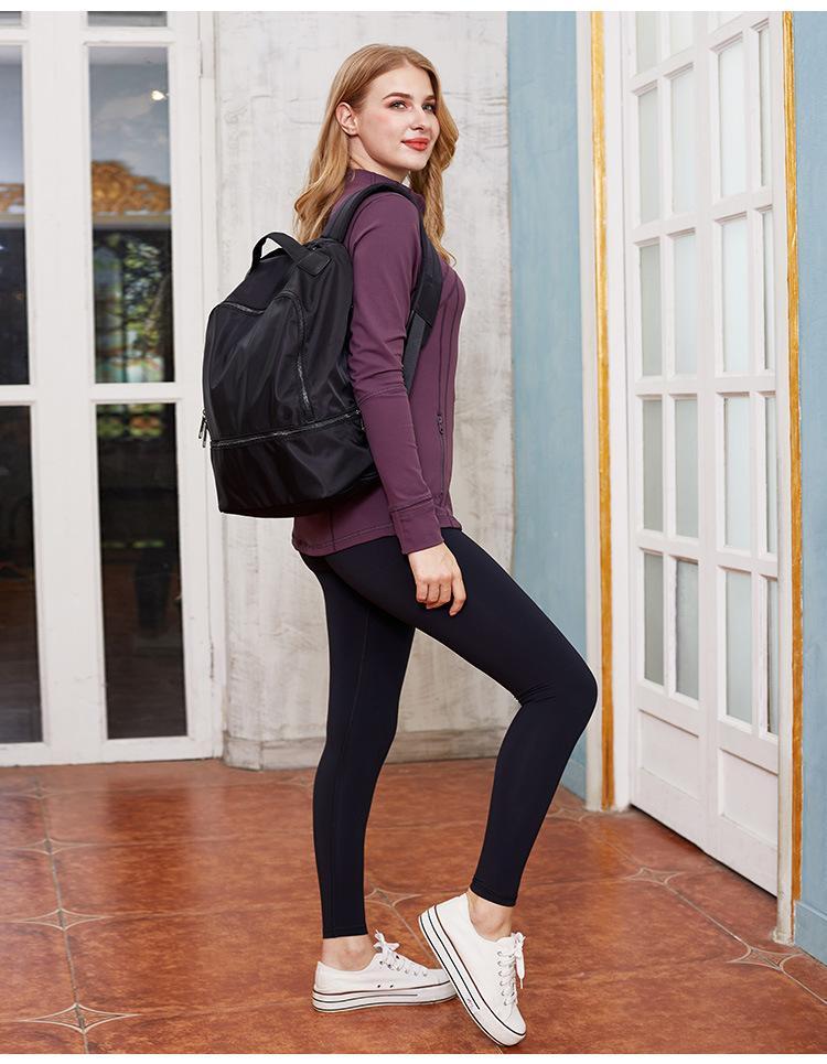 Borse Gym Quality Sports Yoga all'aperto Yoga Casual e Donne Style Backpack Back Uomo TJRMI