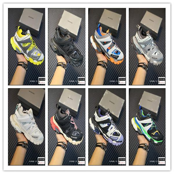 2020 Yeni 3M Üçlü S Parça 3.0 balanciaga Koşu Ayakkabı Yayın 3 Tess Gomma Maille Koşu Tasarımcı Ayakkabı Spor Sneaker 35-45Cgby #