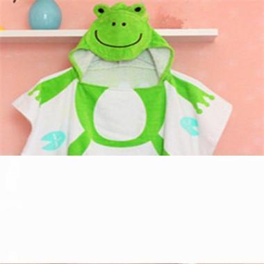 الصفحة الرئيسية منشفة 100٪ القطن شاطئ الطفل ثوب الطفل حمام مناشف الشاطئ عباءة الرأس الرضع الكرتون الحيوان مقنع الطفل منشفة حمام