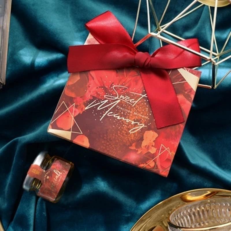 20/30/50 Pcs New criativa Box Bolsa Doce Favor Bag para o partido do evento Tabela Decoração Wedding Party Supplies favores Presente Boxe