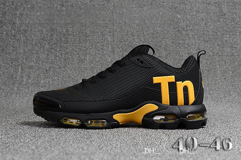 Nike VaporMax air tn plus NIC QS world cup moda hombres calientes zapatos casuales transpirables zapatos planos cómodos blanco negro aire colchón hombres zapatos casuales 40-45