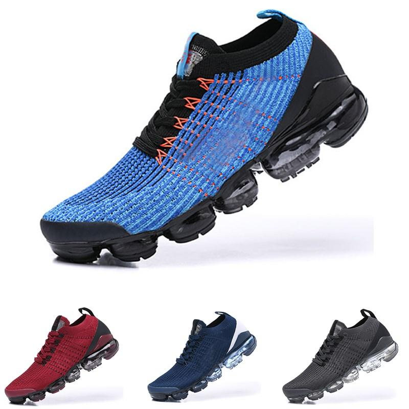 yeni beyaz buharı 2.0 Fly 3,0 bayanlar rahat koşu ayakkabıları tasarımcı buharı 2 erkek asker yeşili örgü spor ayakkabı boyutu 36-45