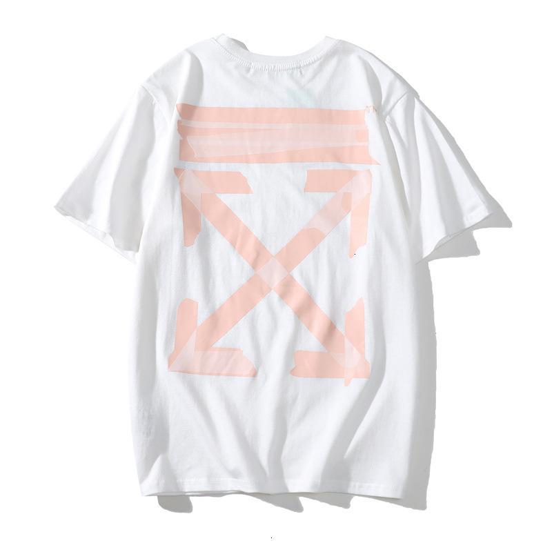 gli uomini di alta qualità a maniche corte casuale comodo abbigliamento di moda T-shirt girocollo 2020 T-shirt di moda estate 9CG9Q1D7