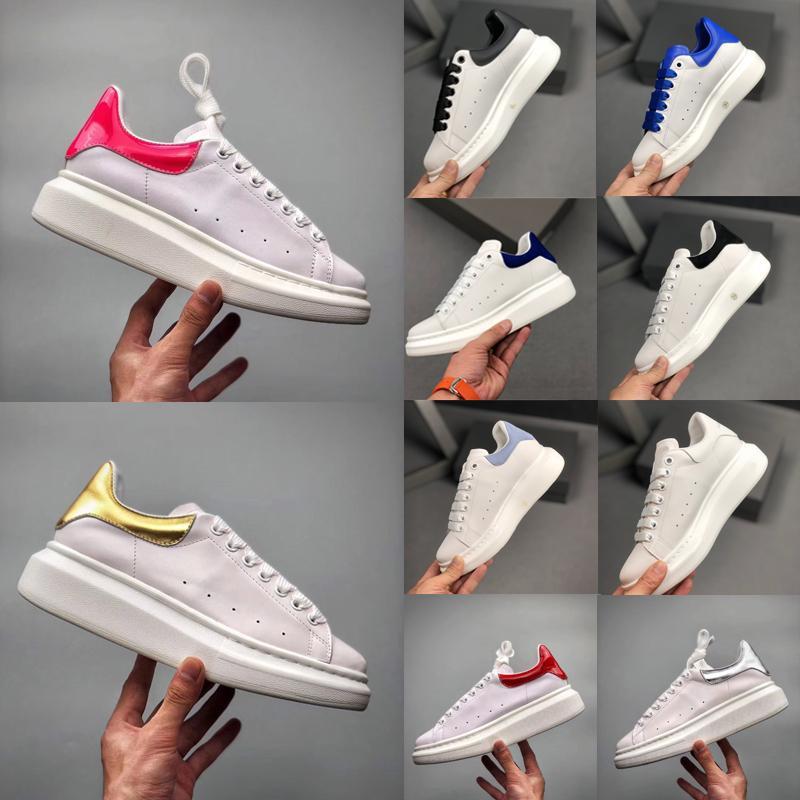 qualité supérieure avec 2020 boîteAlexandreMcQueens mc baskets femmes designer hommesplate-forme mcqueenSCARPE da chaussures ginnastica