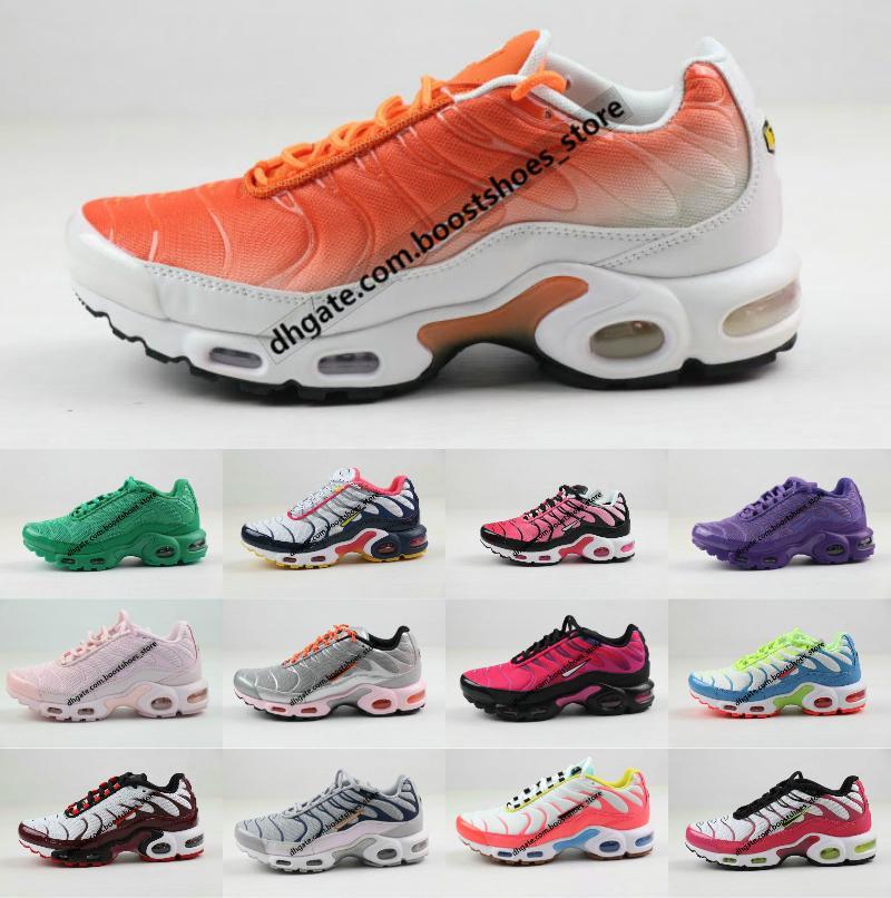 Vente chaude Nouveau originale 2020 Tn Chaussures New Fashion Designer Femmes Mesh respirant Og Tn plus Chaussures de sport Formateurs Chaussures Requin 36-40