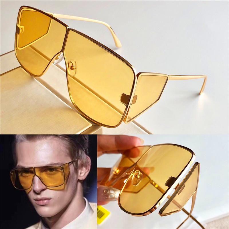Neue Modedesigner Unisex-Sonnenbrille 708 quadratischer Rahmen einfache populäre hochwertige uv400 Schutzbrille Goggle Verkaufsstiles