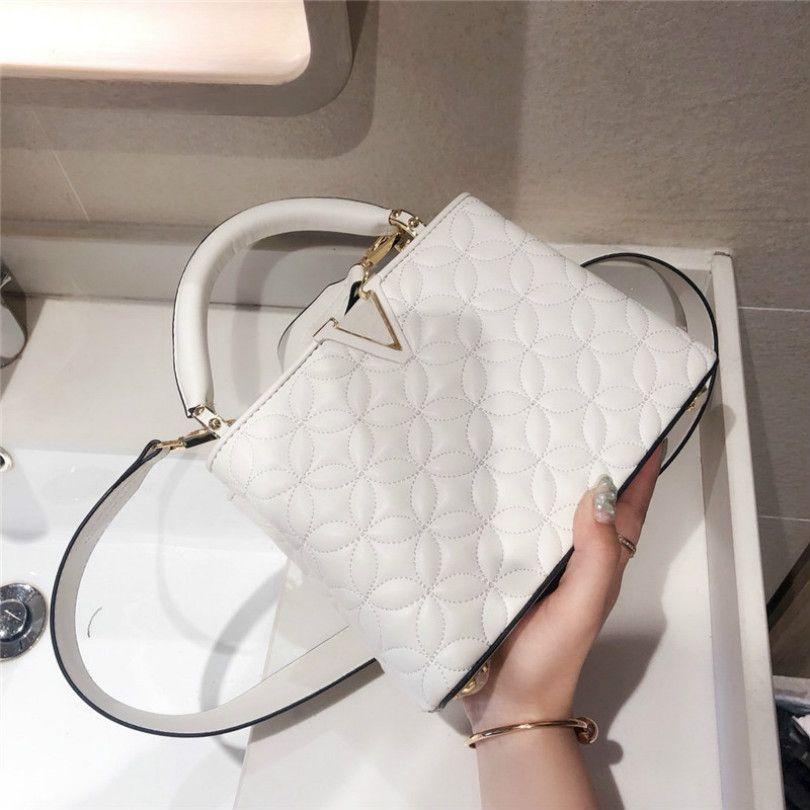 Hot 2020 Mulheres New Luxury Handbag alta qualidade Designer Shoulder Bag Lady Moda Crossbody Mão Bag CFY2005053