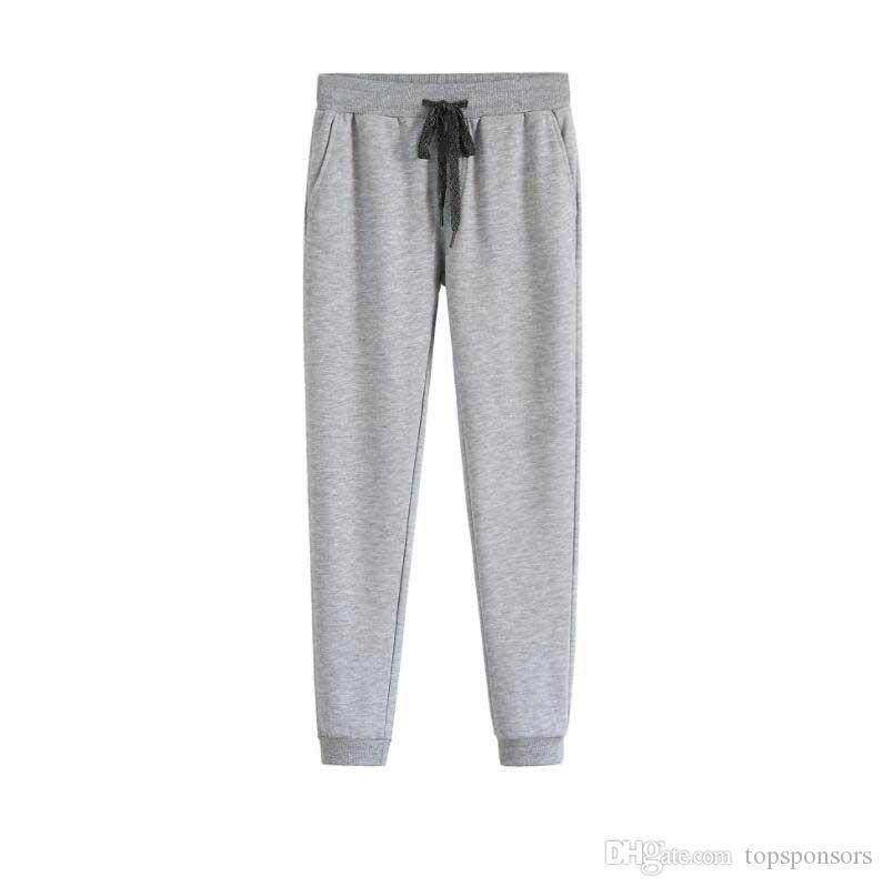 Erkekler Harem Pantolon Gevşek Fit Pantolon Pamuk Elastik Bel Uzun Pantolon Jogging Yapan Pantolon Sweatpants Sıska Spor Kalem Pantolon