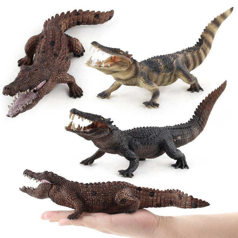 Crocodile simulation animal modèle action /& Toy figurines collect IV