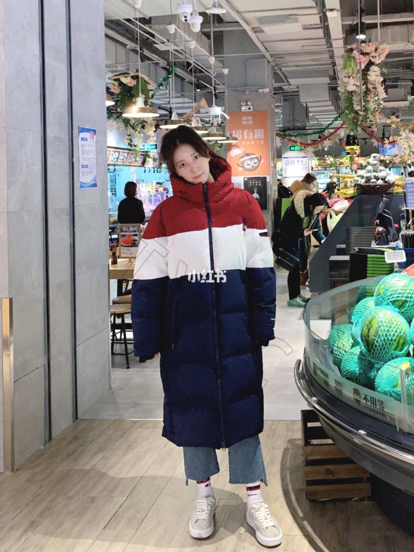Männer und Frauen Stehkragen mit Windschutzmanschetten lässig, leicht, warm und komfortabel nach unten Baumwolljacke