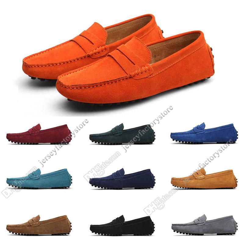 2020 Grande Taille 38-49 Nouveau cuir Chaussures pour hommes Croweshoes Chaussures Casual britannique Livraison Gratuite Soixante-quatorze