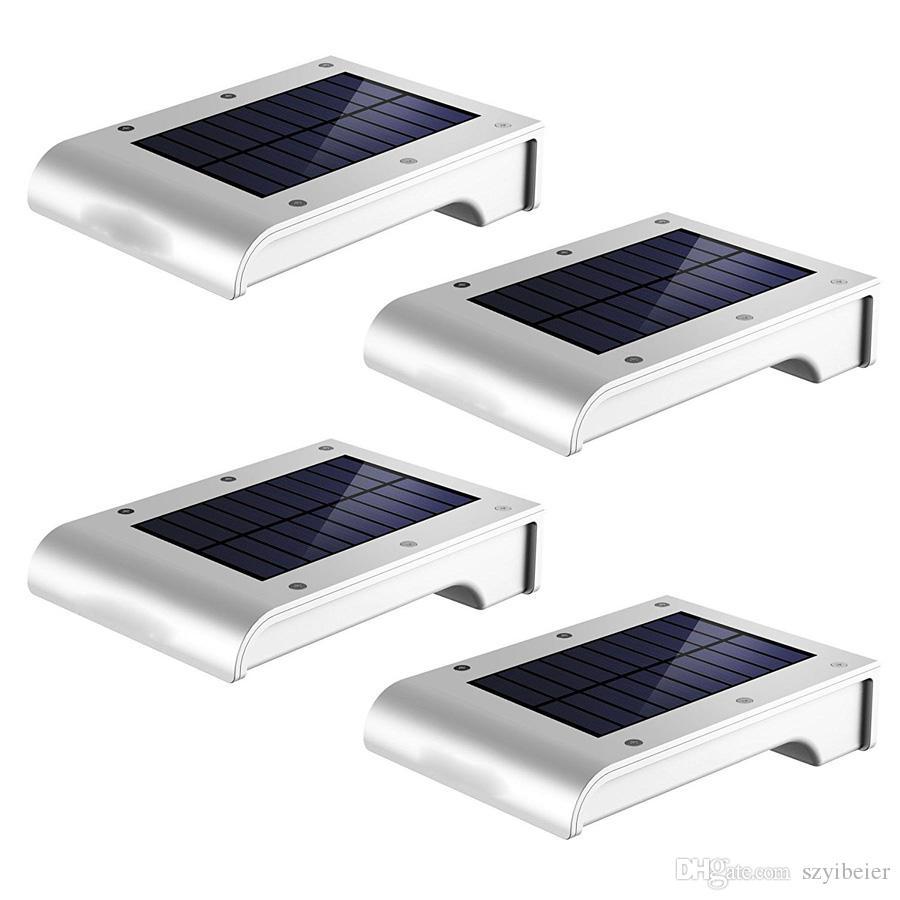 Solarleuchte 16 LED Solar Lampe mit Bewegungsmelder Gartenlicht Wandleuchte