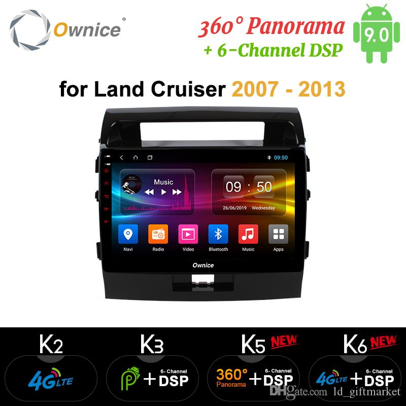 Ownice Android 9.0 coches reproductor de DVD GPS Navi para Toyota Land Cruiser 200 2007-2013