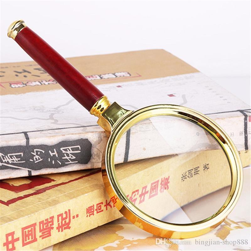حار نمط 80 ملليمتر المحمولة 10x المكبر العدسة المكبرة زجاج العدسة لسهولة قراءة مجوهرات ووتش أداة إصلاح