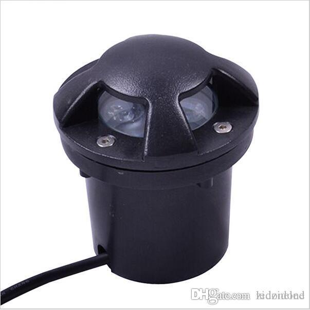 أضواء LED دفن 3W في الهواء الطلق حديقة راحة سطح الأرض جدار تحت الأرض مصباح المناظر الطبيعية الإضاءة الرصيف 12V / 24V / 265V AC85-