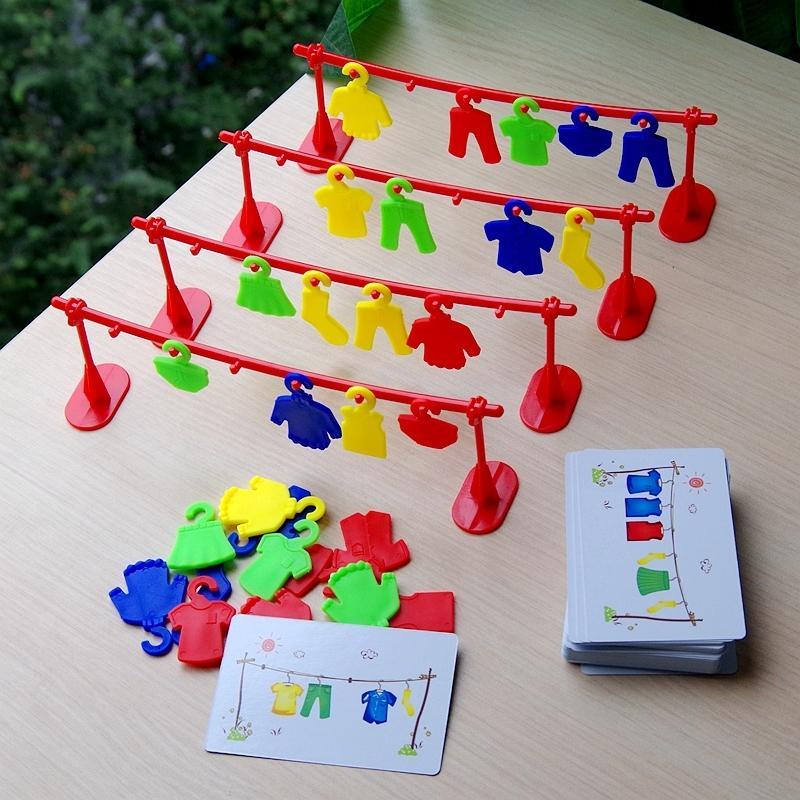 Les vêtements multi-joueurs participer au concours Early Education Toys Logic Training enseignement interactif Party Board Game T200413