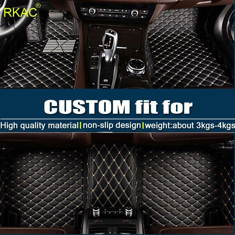 Personalizados tapetes de coche para KIA K1 K2 K4 K5 de Kia Cerato Sportage rio Optima Maximacar accesorio estilo del coche
