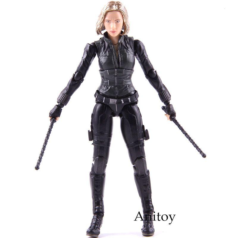 2019 Shfiguarts Black Widow Avengers Action Figure Infinity War Age Of Ultron Natasha Romanoff Pvc Collectible Model Toy From Dianblock 23 5